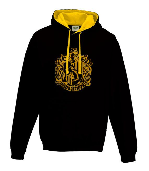 Harry Potter Hufflepuff house Quidditch hoodie in by iganiDesign