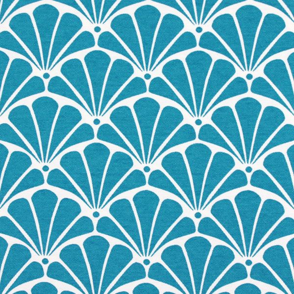 Caracola 5 - blu - Borsa da spiaggia - Borse - Tessuti - Giardino - Tessuti - Tessuti arredo extra-large - Tessuti arredo con ornamenti - Altri tessuti da esterni - tessuti.com