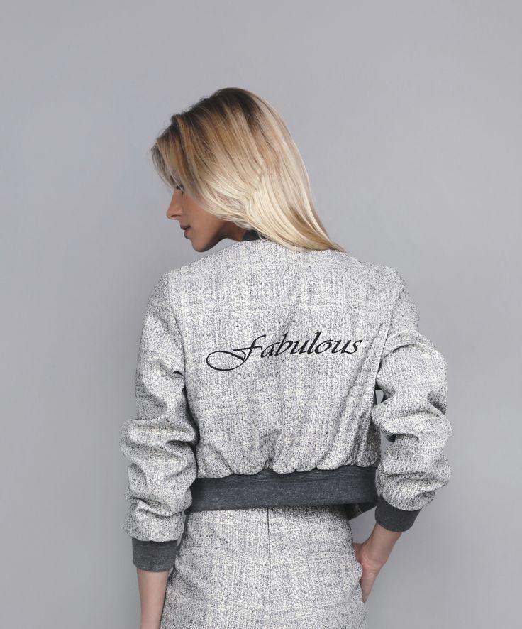 #oanapop #fashion #fashioncatalog #fashionphotography #fabulous #embroidery #bomberjacket  Photo: Anca Cheregi Model: Cristina Oltean Mua: Ioana Malai