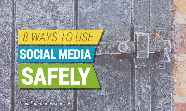 8 Tips To Protect Yourself When Using #SocialMedia - #infographic