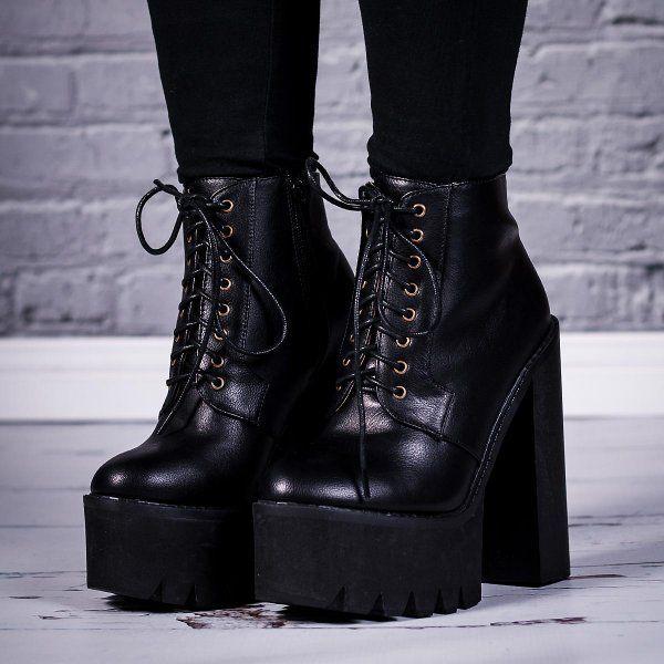 30+ Chunky heel platform boots ideas ideas