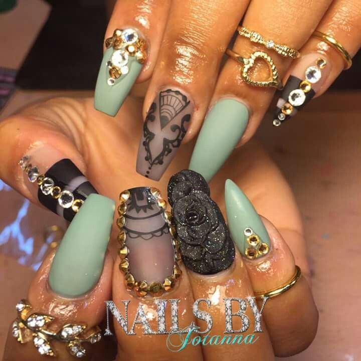 88 best bling nails images on pinterest nail scissors nail art omg prinsesfo Images
