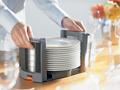 Tallrikskasett – Tallrikshållare för Orgaline system, placeras lämpligast i låda.