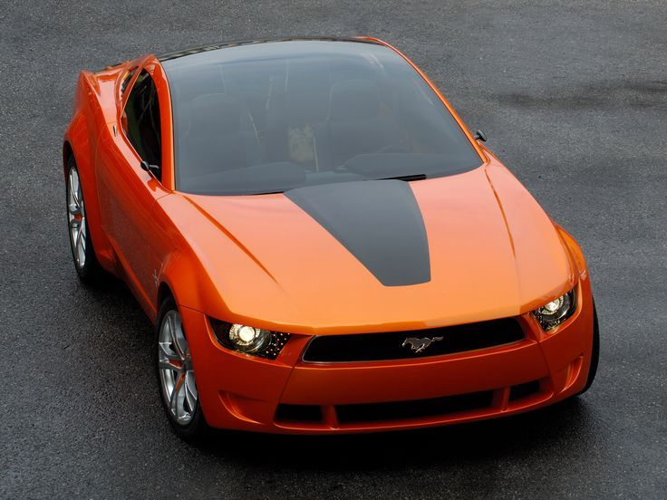 The 2006 Mustang Concept. Does it look familiar?