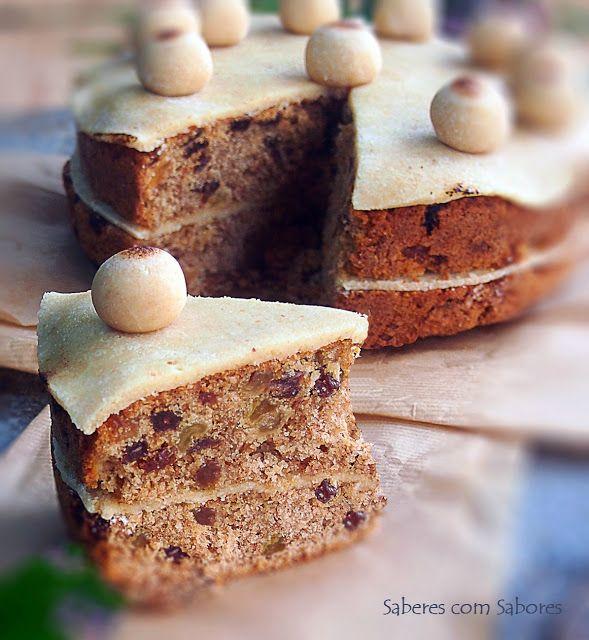 Saberes com Sabores: Simnel Cake
