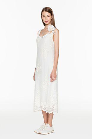 TWIN-SET Simona Barbieri :: SS15 :: Dresses :: Embroidered Dress :: P2S56B