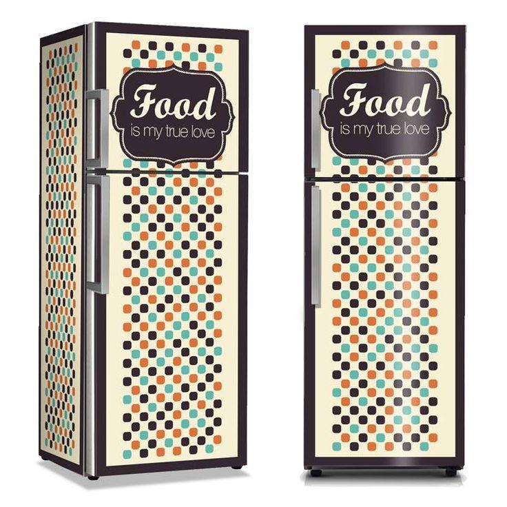 Μεταμορφώστε το ψυγείο σας!  Αυτοκόλλητα ψυγείου: http://www.houseart.gr/catalogue.php?id=13  #Houseart #ψυγείο #διακόσμηση #αυτοκόλλητo_ψυγείου #diy