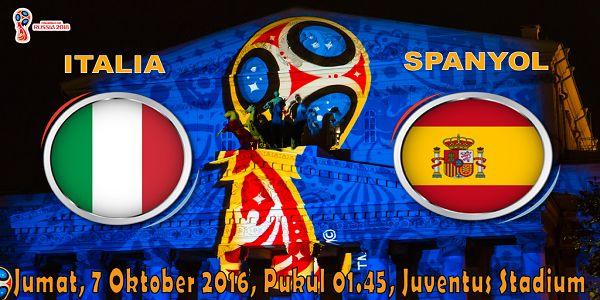 prediksi bola italia vs spanyol 7 oktober 2016