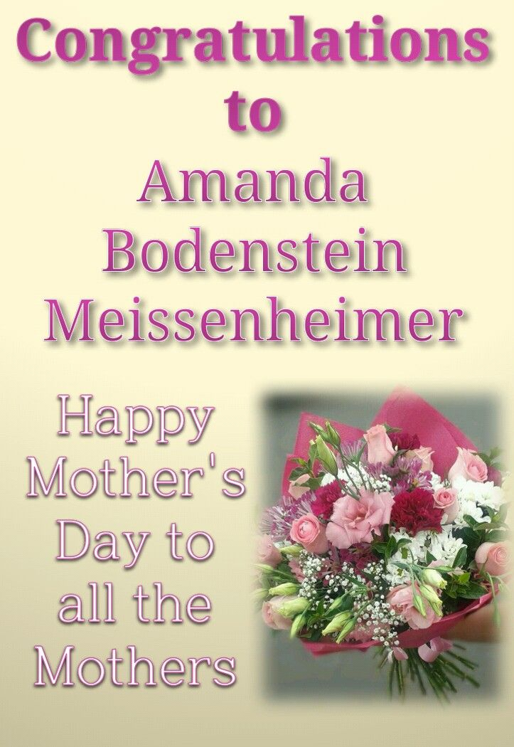 Congratulations to Amanda Bodenstein Meissenheimer for winning the Azalea Florist - Mother's Day Competition 2016