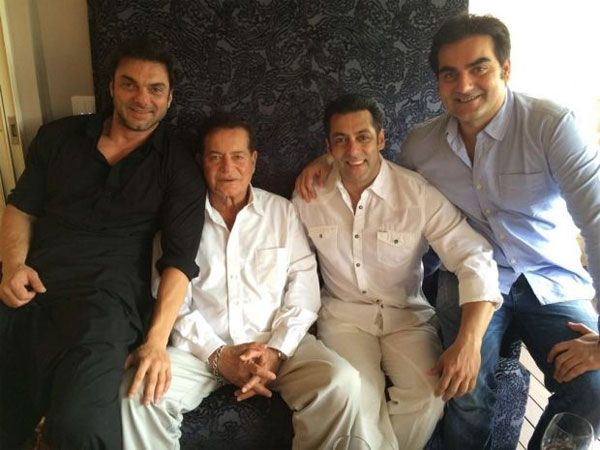 After Salim Khan rubbished the news of Salman Khan and family leaving Galaxy…