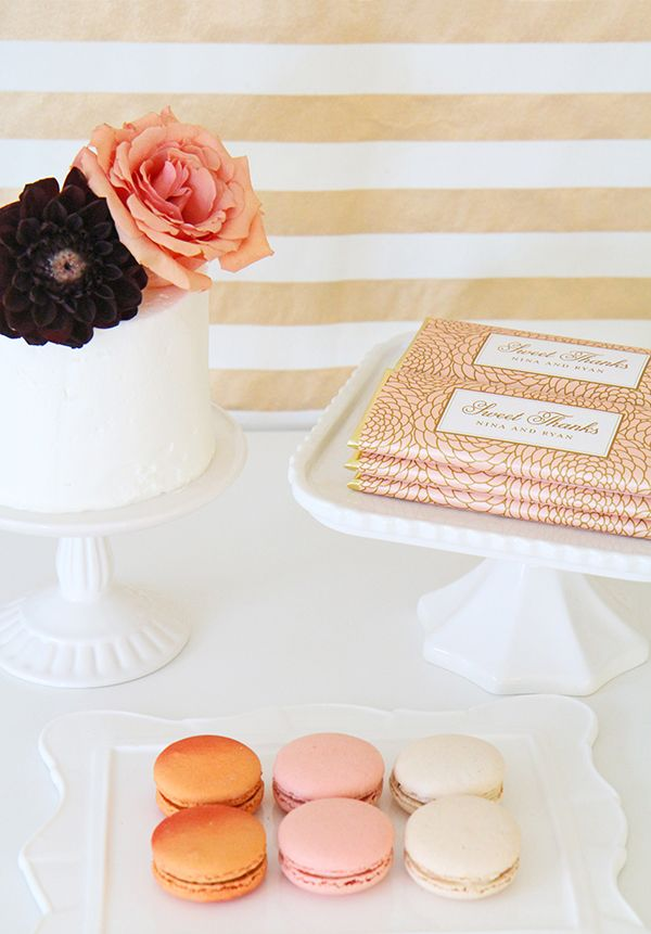 Win luxe + personalized candy bar wrappers for wedding favors from Sweet Paper Shop - Wedding Party