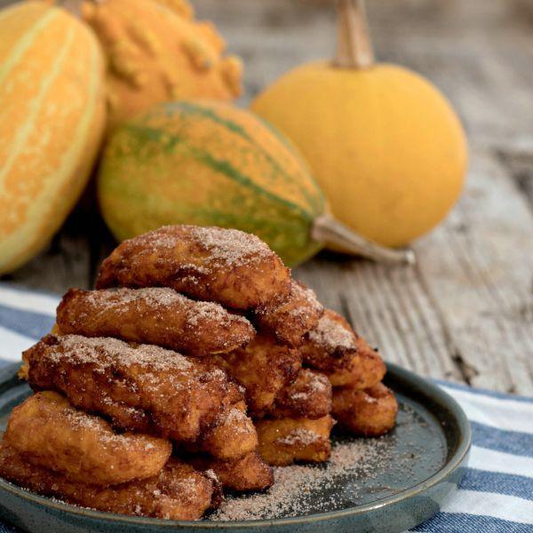 Bolinhos de Jerimu. Esta e outras receitas, no site Nestlé Cozinhar.