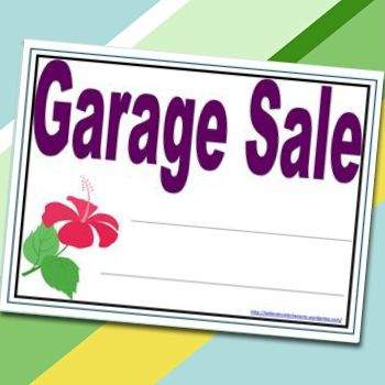 Free Printables Garage Sale Signs (Page 2) | Craigslist Garage Sales - Oklahoma City