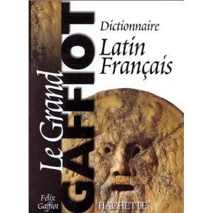 Dictionnaire latin-français de référence