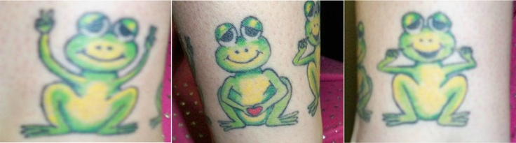 50 best images about frog tattoos on pinterest ankle for Peace love happiness tattoo