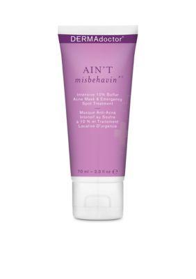 Dermadoctor Men's Ain't Misbehavin' Intensive 10% Sulfur Acne Mask & Emergency Spot Treatment -  - No Size