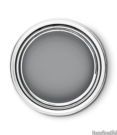 Sherwin Williams Classic French Gray - Paint Color Trends - House Beautiful