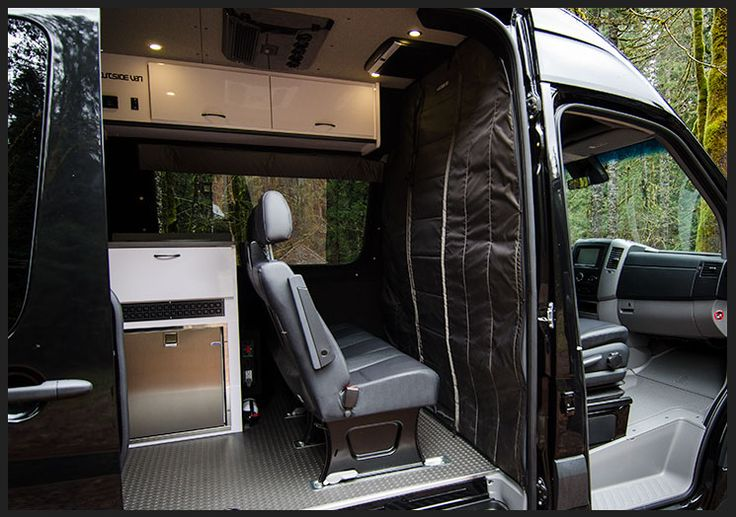 Custom Sprinter Stealth Curtain Sprinter Van Interiors
