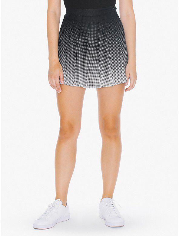 Printed Tennis Skirt from American Apparel $65,00