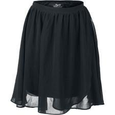 Black Swinging Skirt