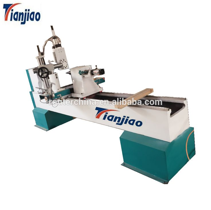 Taiwan HIWIN square guide rail CNC wood lathe TJ-1530