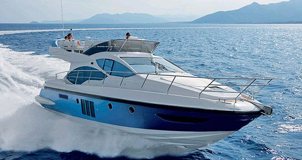Awards at MiBS 2012 for Made in Italy by Azimut Yachts and Atlantis.  At the con…