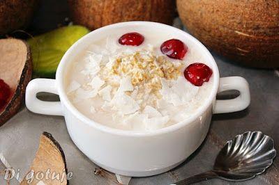 Di gotuje: Owsianka nocna mocno kokosowa (bez gotowania)