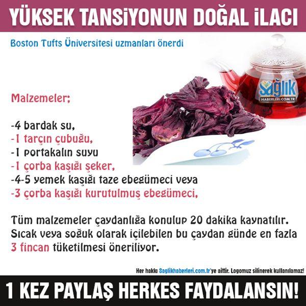 Yüksek tansiyonun doğal ilacı! #hipertansiyon #sağlık #sağlıkhaberleri…