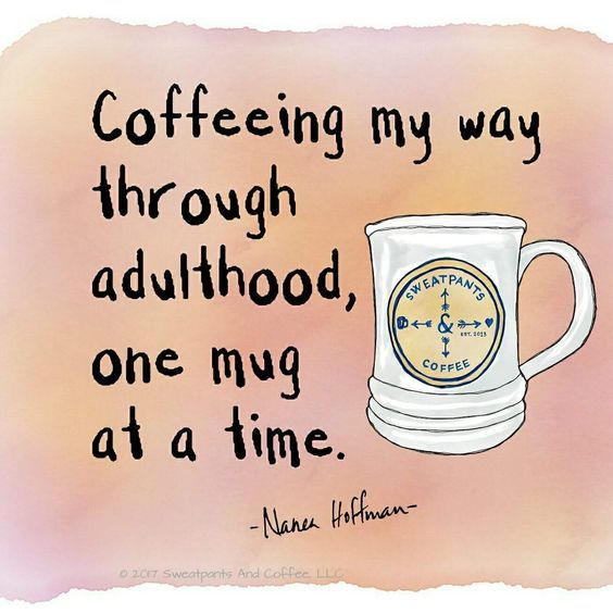 One mug at a time,via @sweatpantsandcoffee