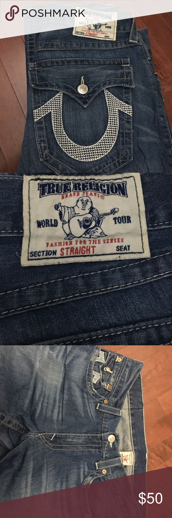 Men's True Religion Straight Jeans Men's True Religion Straight Jeans.  Size 36 True Religion Jeans Straight