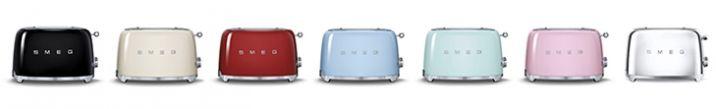 Smeg 50's style toasters. The new icons of the domestic space.  /  Tostapane #smeg50style. Le nuove icone dello spazio domestico.  www.smeg50style.com