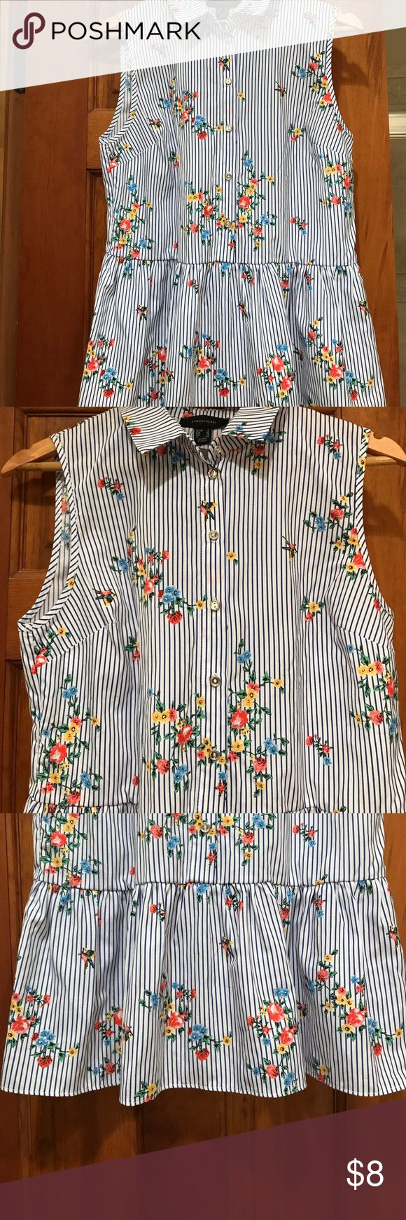 Peblum Top New with tags! Doesn't fit. From Primark which is a clothing brand in London, England. Tops Blouses