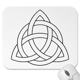 Gratitude Grace Growth: Things in Threes - Triquetra Symbol