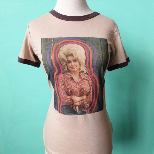 806492400 Rainbow Dolly, Vintage T Shirt, Women's, Dolly Parton, tops and Tees ...