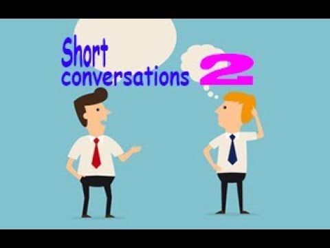 Short conversations to learn English - Part 2 - YouTube