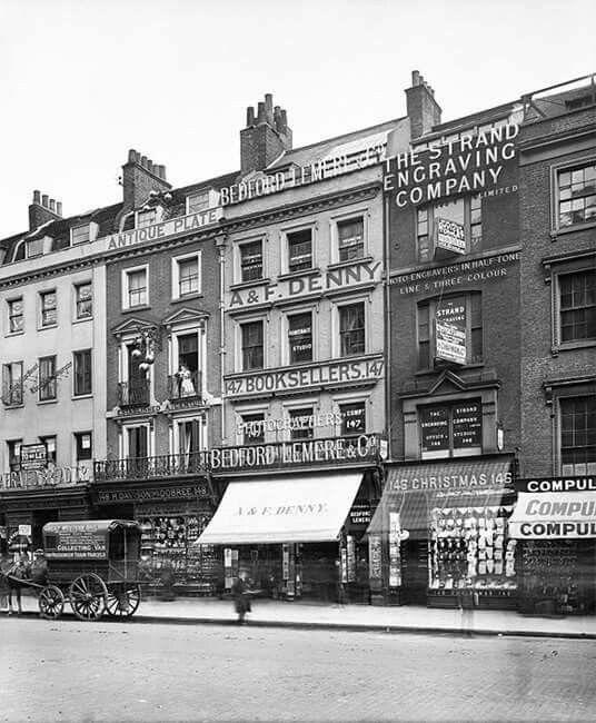 147 Strand Westminster 1907