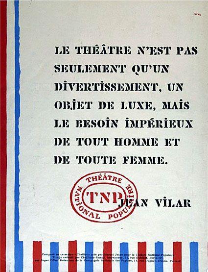 Le TNP citoyen   © Maison Jean Vilar