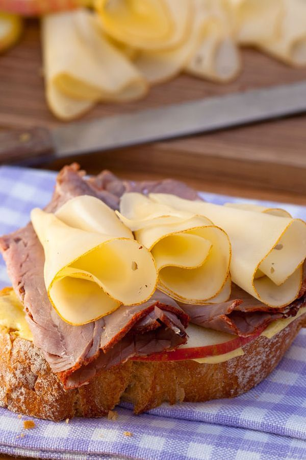 Rezept Fruchtig würziges Käsebaguette