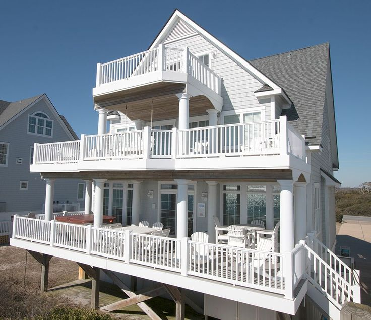 Oceanfront Vacation Condos: 21 Best North Topsail Beach Rentals Images On Pinterest