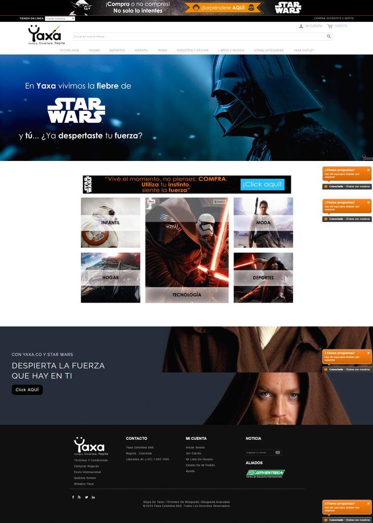 En #Yaxa estamos celebrando el estreno de Star Wars https://yaxa.co