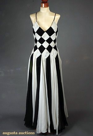 GUY LAROCHE RUNWAY EVENING GOWN, LATE 1950s - gorgeous!!