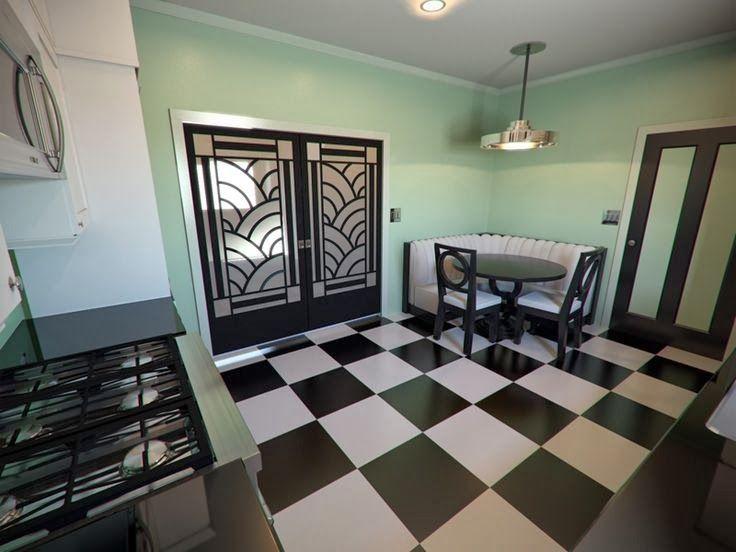 1000 Images About Art Deco Kitchen On Pinterest Veranda