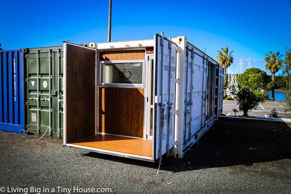 住む機能がギュッ!船に積めちゃう「DIYコンテナハウス」。 | TABI LABO