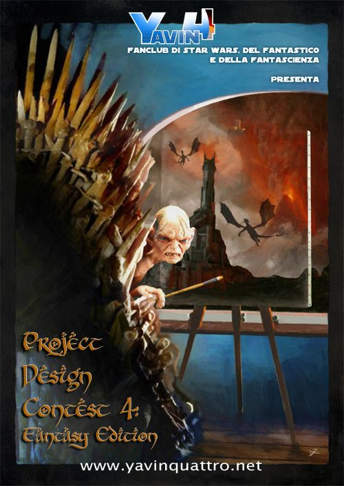 Project Design Contest 4: 2014, Fantasy Edition Poster