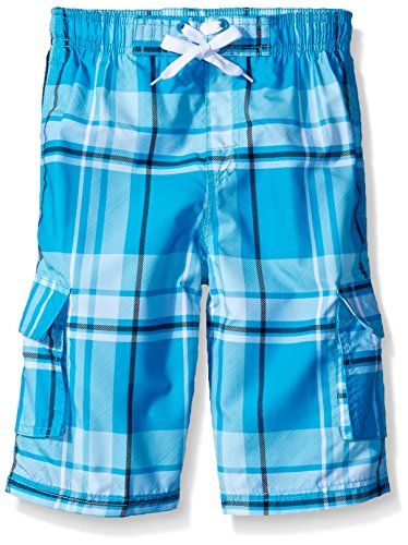 Kanu Surf Boys Matrix Plaid Swim Trunks *** You can get additional details at
