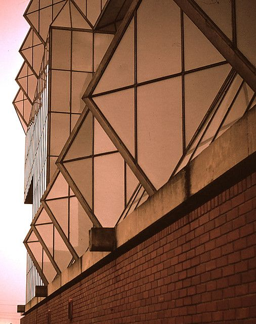 Leicester University, James Stirling, architect | Flickr - Photo Sharing!