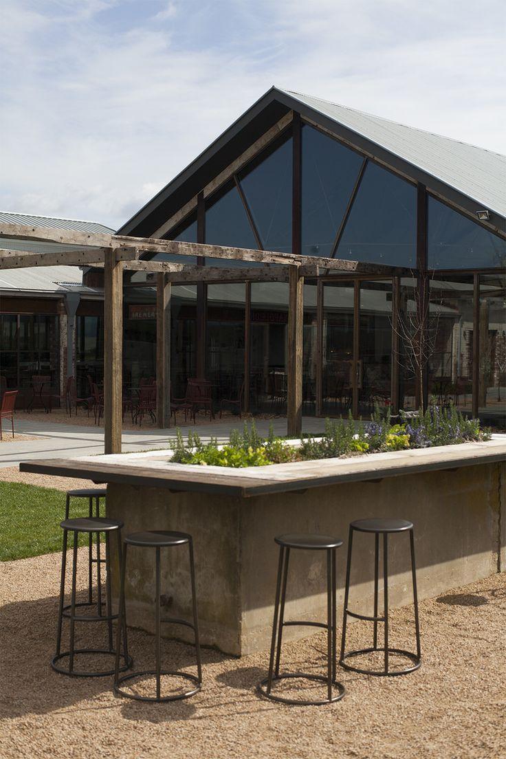 Outdoor bar space #outdoor #bar #barstools #table #garden #yaravalley #meletos #cafe