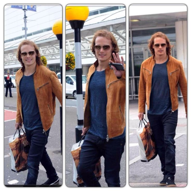 Sam arriving back from Monte Carlo to Glasgow Airport!