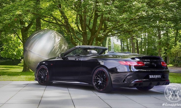 Brabus 850 6.0 Biturbo Cabrio Is Billed As The World's Fastest Four-Seat Convertible Car