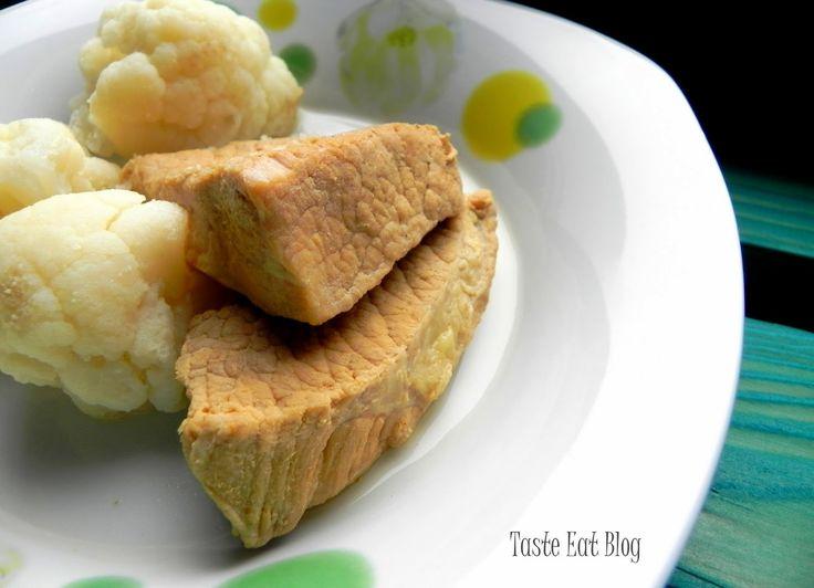 Taste Eat: Lekka szynka duszona w jarzynach